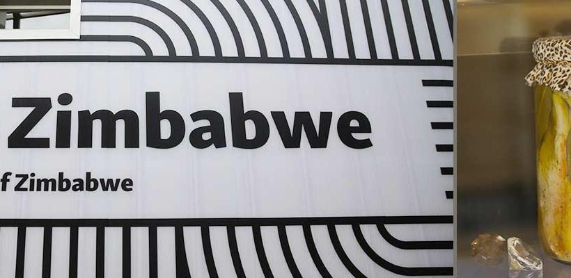 Zimbabwe – Sapori e gusto dalle terre d'Africa EXPO FLAMBE': Dromedaro Tapeluco e Zebra Burger Cucina di contaminazione con AMIRA, Associazione Maitres Italiani Ristoranti e Alberghi