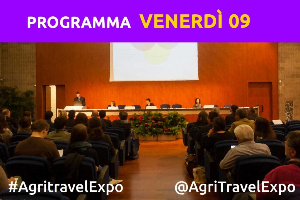 Programma 9 Ottobre - Agritravel e Slow Travel Expo 2015