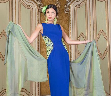 La stilista Matilde Blandino sfila sabato sera